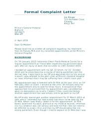 Letter Of Complaints Sample Related Post Holiday Complaint Letter Template Complaints How To
