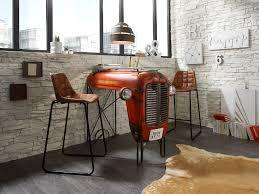 Details Zu Bartisch Antik Unikat Metall Designer Bar Industrie Möbel Massivum Traktor