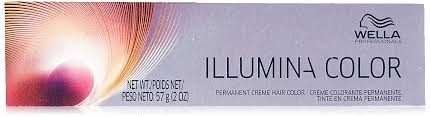 Wella Illumina Permanent Creme Hair Color 7 7 2 Ounce