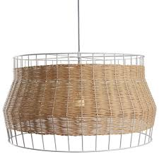 laika large pendant light  rattan pendant light  blu dot