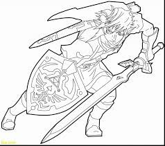 Link Coloring Pages New Top The Legend Zelda Of 6 Futurama Me 1724