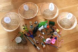 This is one of the most comprehensive collections of phonics worksheets available online. Sorting Baskets Phonics Activity The Imagination Tree