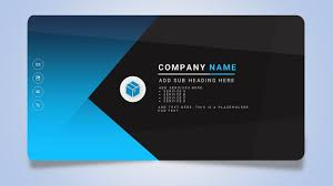 microsoft business card how to design a creative business or name card in microsoft office