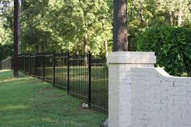 installing a fence best of how to diy install iron fence or aluminum fence on a hill slope