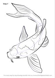 realistic koi fish drawing. Brilliant Drawing Finally Make Necessary Improvements To Finish With Realistic Koi Fish Drawing