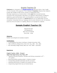 Special Education Teacher Resume New English Teacher Cv Special Education Teacher Resume 68