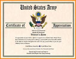 Military Certificate Templates Certificate Template odr100 2