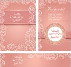 wedding invitation design templates wedding invitation card templates free vector in adobe illustrator