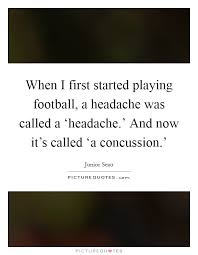 Concussion Quotes