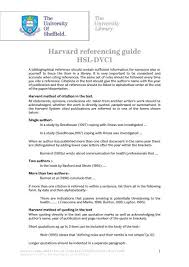harvard referencing guide hsl dvc1