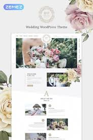 Wedding Wordpress Theme Belle Fleur Wedding Landing Elementor Wordpress Theme Wordpress