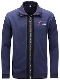 FREDD MARSHALL Men's Jacket Stitching Zip Long Sleeve Top ...