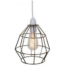 industrial cage lighting. Bonsoni Copper Industrial Cage Light Shade Lighting T