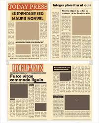 Classroom Newspaper Template 45 Printable Newspaper Templates Free Premium Templates