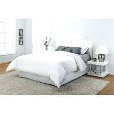Full Size White Canopy Bed White Full Size Bed Frame White Bed Frame ...
