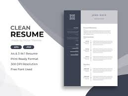 Resume Modern Format Web Developer Cv Template By Resume Templates On Dribbble