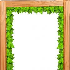 gold frame border design. A Border Design Made Of Wood And Green Leaves Vector Gold Frame Border Design