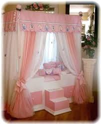 Toddler Princess Canopy Bedding Girls Bed Beds For Kids ...