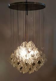 italian chandelier from mazzega 1960s