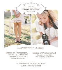 bridal shoot flyers photography class in utah and new mexico tonya peterson