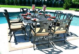 cast aluminum patio chairs. Balcony Table And Chairs Aluminum Patio Set Dining For 8 Person Luxury Cast