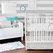 chevron baby crib blanket zig zag in gray bedding collection tap to expand
