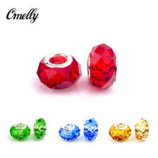 colourful clear beads for pandora jewelry making loose pandora charms diy beads for bracelet whole in bulk low