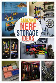 This was nerf gun storage ideas are in order…enjoy! Nerf Storage Ideas A Girl And A Glue Gun