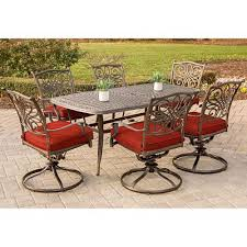 hanover traditions 7 piece aluminum