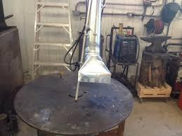 homemade welding fume extractor 8 arm hood jpg