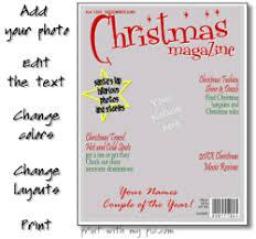 Christmas Magazine Template Make And Print A Christmas Magazine