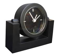 black desktop clock stock photo image of clock minute 438710