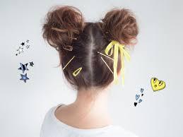 ミッキーみたいな髪型に簡単ディズニーヘアアレンジ ヘアアレンジ