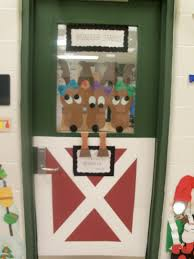decorating office doors for christmas. Accessories: Fascinating Images About Door Contest Reindeer Christmas Classroom And Offices Decorations D: Full Decorating Office Doors For