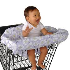 balboa baby shopping cart and high chair cover  lavender poppy