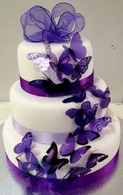 purple and black wedding cakes. purple white and black wedding cakes l