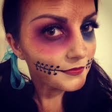 voodoo doll costume makeup ideas wonderhowto source hayley corr mua makeupbyhali twitter