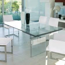 Antonello Italia Miami Dining Table Glass