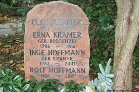 Grab von Erna Kramer (geb. Roschitzky) (1906-1986), Friedhof  Emden-Tholenswehr
