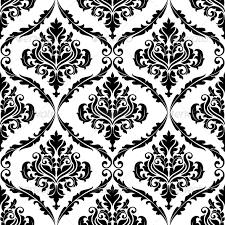 Arabesque Pattern Unique Ornate Floral Arabesque Decorative Pattern By VectorTradition