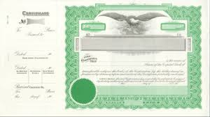 Printable Stock Certificates Stock Certificate Template Sadamatsuhp 20