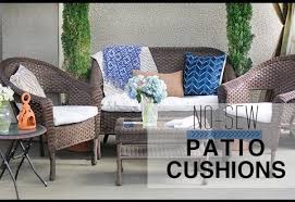 patio furniture pillows. Fascinating Outdoor Furniture Pillows In No Sew Patio Cushion Covers YouTube