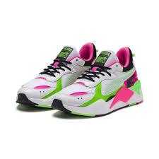 Puma To Nike Size Chart Rs X Tracks Mtv Bold Sneakers Puma White Puma Black 802 C
