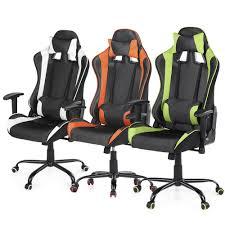 recaro bucket seat office chair. Full Size Of Racing Seat Office Chair Recaro Base Costway Pu Leather Bucket S