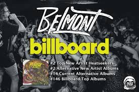 Belmont Charts Belmont Tops Billboard Charts With Self Titled Debut Lp R