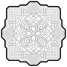 Geometric Coloring Pages - coloringsuite.com