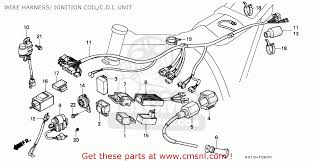 honda xrr r wire harness ignition coil c d i wire harness ignition coil c d i unit schematic