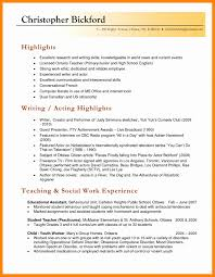 Resume Exquisite Sample Resume For Teachers With New Teacher