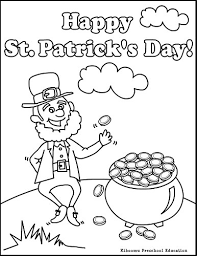 Small Picture Leprechaun Coloring Page For St Patricks Day Its a Leprechaun
