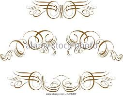Some truly victorian-style accents. Great uses in almost any design - Stock  Vector